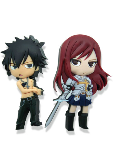 Fairy Tail Gray & Elza Pvc Pinset officially licensed product at B.A. Toys.