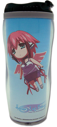 Heaven's Lost Property Ikaros Chibi Tumbler, an officially licensed product in our Heaven'S Lost Property Mugs & Tumblers department.