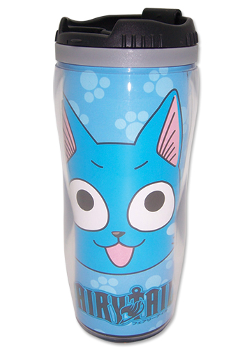 Fairy Tail Happy Tumbler, an officially licensed product in our Fairy Tail Mugs & Tumblers department.