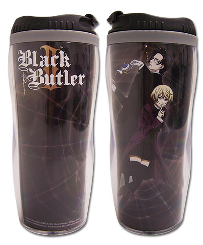 Black Butler 2 Claude & Alois Tumbler, an officially licensed product in our Black Butler Mugs & Tumblers department.
