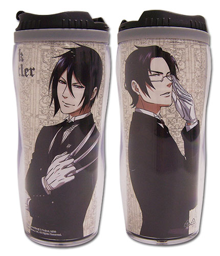 Black Butler 2 Sebastian & Claude Tumbler, an officially licensed product in our Black Butler Mugs & Tumblers department.