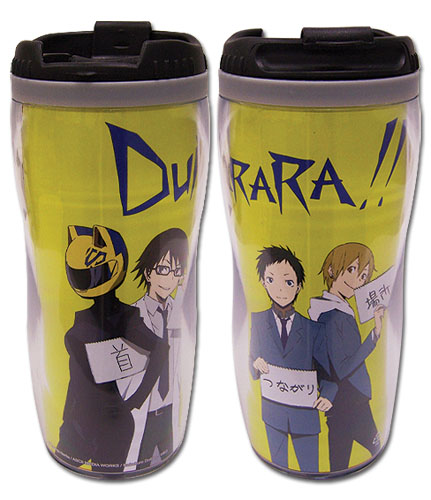 Durarara!! Line Up Tumbler, an officially licensed Durarara!! product at B.A. Toys.