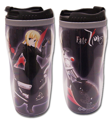 Fate/Zero Saber Tumbler, an officially licensed product in our Fate/Zero Mugs & Tumblers department.