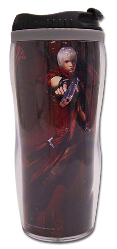 Devil May Cry Dante Tumbler, an officially licensed Devil May Cry Mug / Tumbler