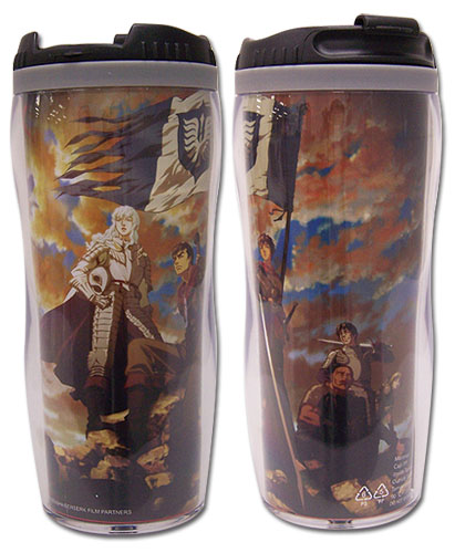Berserk Band Of The Hawk Tumbler, an officially licensed product in our Berserk Mugs & Tumblers department.