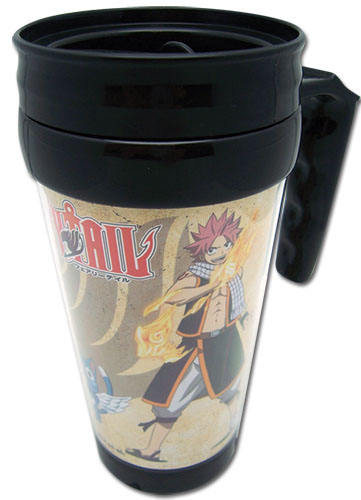 Fairy Tail Crew Tumbler With Handle officially licensed product at B.A. Toys.