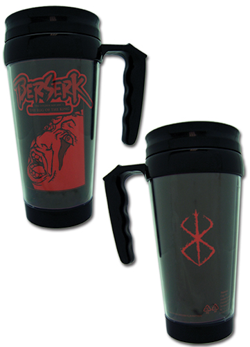 Berserk - Behelit Tumbler With Handle, an officially licensed Berserk product at B.A. Toys.