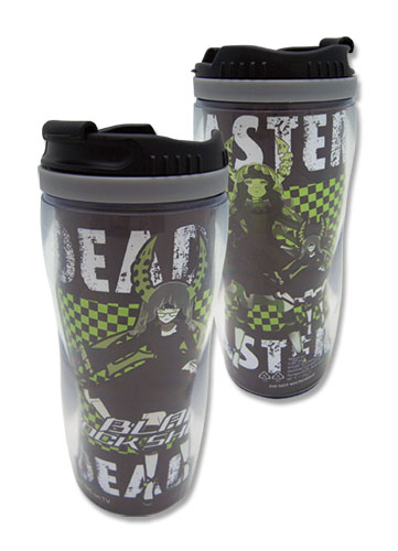 Black Rock Shooter Deadmaster Tumbler, an officially licensed Black Rock Shooter product at B.A. Toys.
