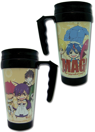 Magi - Group Tumbler With Handle, an officially licensed product in our Magi Mugs & Tumblers department.