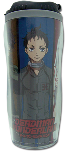 Deadman Wonderland Group Tumbler, an officially licensed product in our Deadman Wonderland Mugs & Tumblers department.