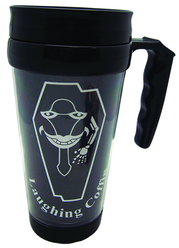 Sword Art Online Laughing Coffin Tumbler With Handle officially licensed Sword Art Online Mugs & Tumblers product at B.A. Toys.