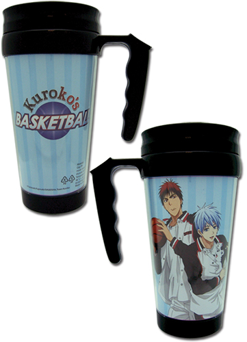 Kuroko's Basketball - Group Tumbler With Handle, an officially licensed product in our Kuroko'S Basketball Mugs & Tumblers department.