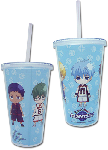 Kuroko'S Basketball - Group Tumbler With Strw Lid officially licensed Kuroko'S Basketball Mugs & Tumblers product at B.A. Toys.