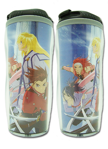 Tales Of Symphonia - Gc Keyart 1 Tumbler officially licensed Tales Of Symphonia Mugs & Tumblers product at B.A. Toys.