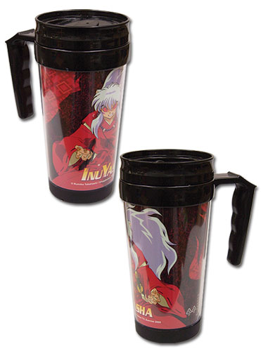 Inuyahsa - Inuyasha Yokai Form Tumbler With Handle officially licensed Inuyahsa Mugs & Tumblers product at B.A. Toys.