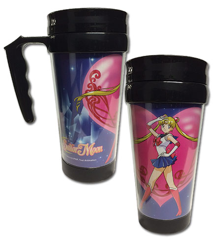 Sailor Moon - Sailor Moon Tumbler With Handle officially licensed Sailor Moon Mugs & Tumblers product at B.A. Toys.