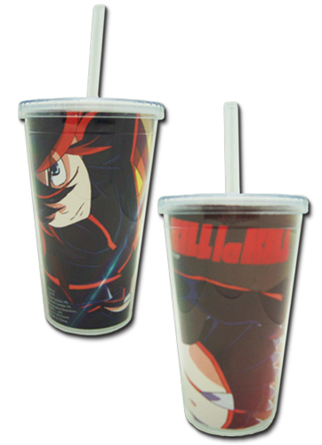 Kill La Kill - Ryuko Tumbler With Lid officially licensed Kill La Kill Mugs & Tumblers product at B.A. Toys.