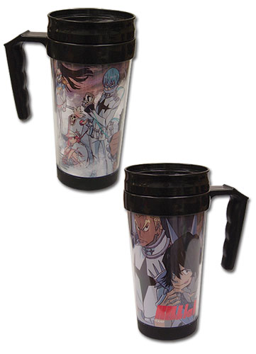 Kill La Kill - Student Council Tumbler With Handle, an officially licensed product in our Kill La Kill Mugs & Tumblers department.