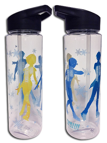 Yuri On Ice!!! - Tritan Water Bottle, an officially licensed product in our Yuri!!! On Ice Mugs & Tumblers department.
