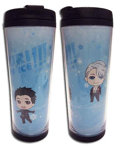 Yuri On Ice!!! - Sd Group Tumbler, an officially licensed product in our Yuri!!! On Ice Mugs & Tumblers department.