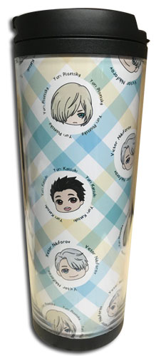 Yuri On Ice!!! - Sd Image Tumbler, an officially licensed product in our Yuri!!! On Ice Mugs & Tumblers department.