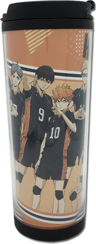 Haikyu!! S2 - Karasuno Group Tumbler, an officially licensed product in our Haikyu!! Mugs & Tumblers department.