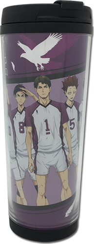 Haikyu!! S3 - Shiratorizawa Group Tumbler, an officially licensed product in our Haikyu!! Mugs & Tumblers department.
