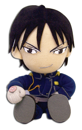 Fullmetal Alchmist Roy (Sitting Pose) Plush, an officially licensed product in our Fullmetal Alchemist Plush department.