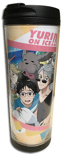 Yuri On Ice!!! - Group For A Ride Tumbler, an officially licensed product in our Yuri!!! On Ice Mugs & Tumblers department.
