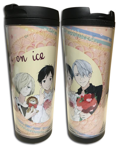 Yuri On Ice!!! - Group Love You Tumbler, an officially licensed product in our Yuri!!! On Ice Mugs & Tumblers department.