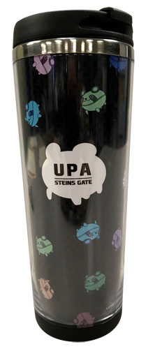 Stein;S Gate - Upa Colorful Tumbler, an officially licensed product in our Stein;S Gate Mugs & Tumblers department.