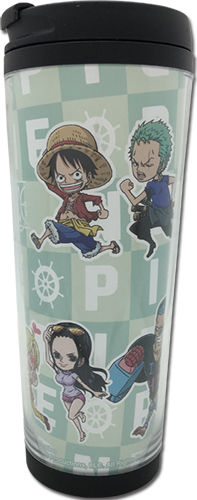 One Piece - Group Run Tumbler officially licensed One Piece Mugs & Tumblers product at B.A. Toys.