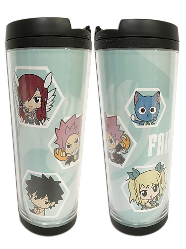 Fairy Tail - S8 Sd #02 Tumbler officially licensed Fairy Tail Mugs & Tumblers product at B.A. Toys.