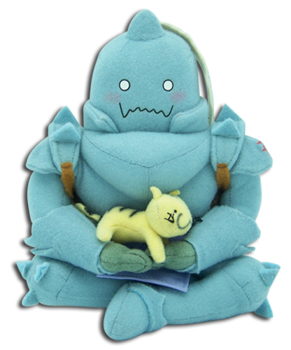 Full Metal Alchemist Alphonse Sitting Plush, an officially licensed Full Metal Alchemist Plush