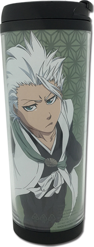 Bleach - Toshiro Tumbler, an officially licensed product in our Bleach Mugs & Tumblers department.