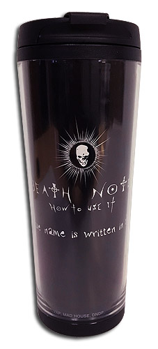 Death Note - Dn Tumbler officially licensed Death Note Mugs & Tumblers product at B.A. Toys.