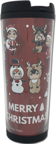 Haikyu!! - Group Christmas Sd Tumbler, an officially licensed product in our Haikyu!! Mugs & Tumblers department.
