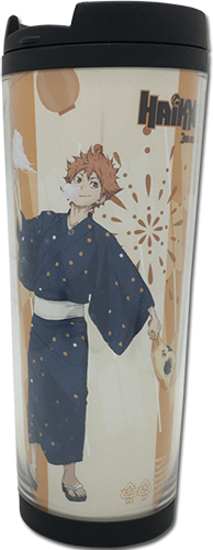 Haikyu!! - Hinata Yukata Tumbler officially licensed Haikyu!! Mugs & Tumblers product at B.A. Toys.