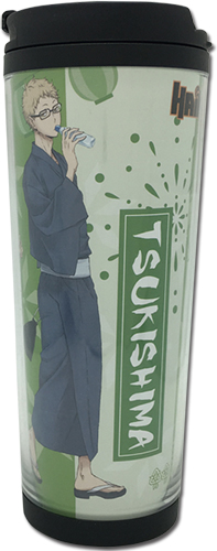 Haikyu!! - Tsukishima & Yamaguchi Yukata Tumbler, an officially licensed product in our Haikyu!! Mugs & Tumblers department.