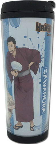 Haikyu!! - Sawamura, Sugawara & Azumane Yukata Tumbler officially licensed Haikyu!! Mugs & Tumblers product at B.A. Toys.