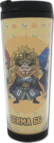 One Piece - Sd Germa 66 Tumbler officially licensed One Piece Mugs & Tumblers product at B.A. Toys.