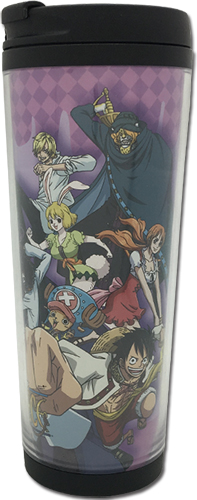 One Piece - Big Group Tumbler officially licensed One Piece Mugs & Tumblers product at B.A. Toys.