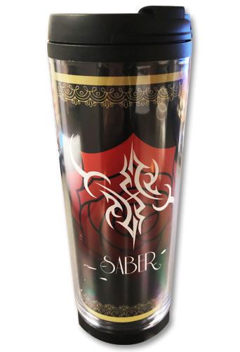 Fate/Extra Last Encore - Saber Command Spell Tumbler, an officially licensed product in our Fate/Zero Mugs & Tumblers department.