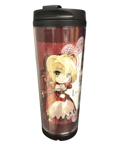 Fate/extra Last Encore - Saber Sd Red Tumbler officially licensed Fate/Zero Mugs & Tumblers product at B.A. Toys.