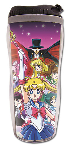 Sailor Moon - Group Tumbler officially licensed Sailor Moon Mugs & Tumblers product at B.A. Toys.