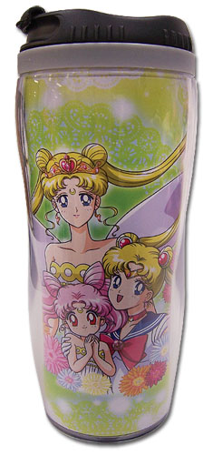 Sailor Moon - Sailor Moon, Neo Queen Serenity & Chiblusa Tumbler officially licensed Sailor Moon Mugs & Tumblers product at B.A. Toys.