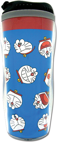 Doraemon - Doraemon Face Tumbler officially licensed Doraemon Mugs & Tumblers product at B.A. Toys.