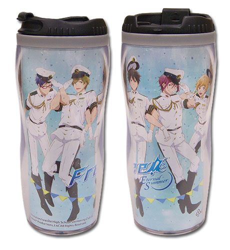 Free! - Group Navy Tumbler officially licensed Free! Mugs & Tumblers product at B.A. Toys.