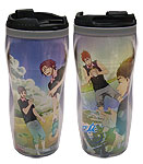 Free! - Group Playing With Water Tumbler, an officially licensed product in our Free! Mugs & Tumblers department.