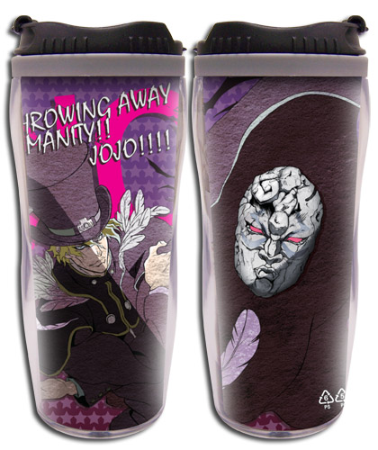 Jojo - Dio Tumbler, an officially licensed product in our Jojo'S Bizarre Adventure Mugs & Tumblers department.